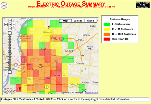 Energy Power Outages Info4disasters