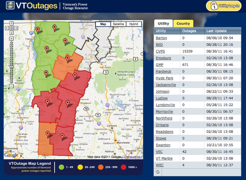 Vermont-outages-vtoutage-map
