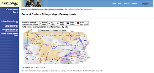 Energy & Power Outages – info4disasters