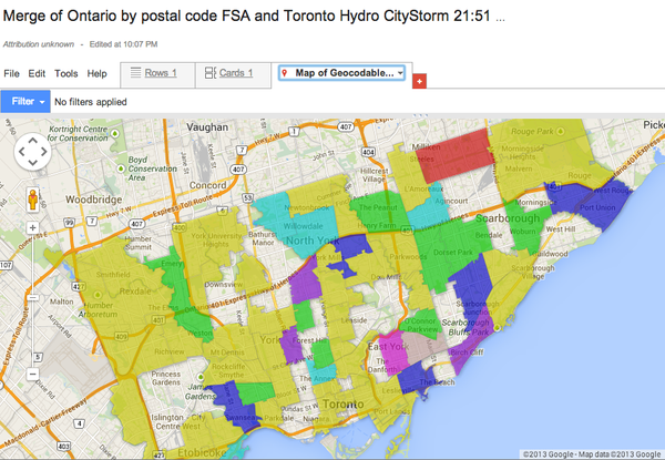 Toronto-hydro-outage-map-22-Dec-2013